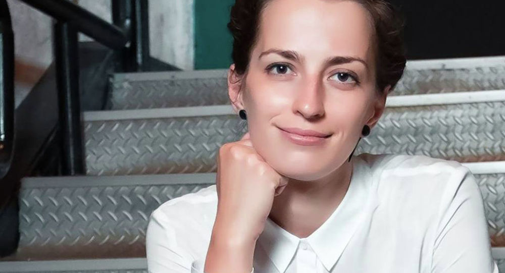 Актриса алматинского театра АРТиШОК Анастасия Тарасова