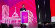 Вице-премьер Госсовета КНР Хань Чжэн в зале пленарных заседаний АЭФ 2019