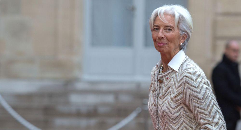 Управляющий директор Международного валютного фонда (МВФ) Кристин Лагард, архивное фото