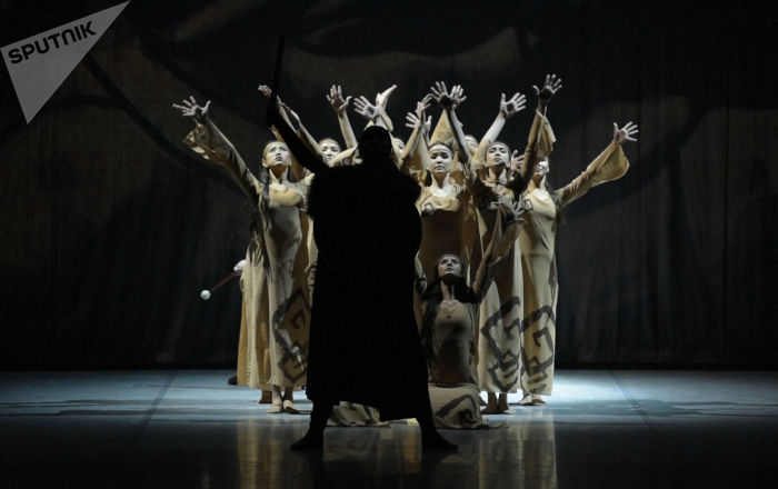 Лучшие балетные школы выступили  на  фестивале Өрлеу