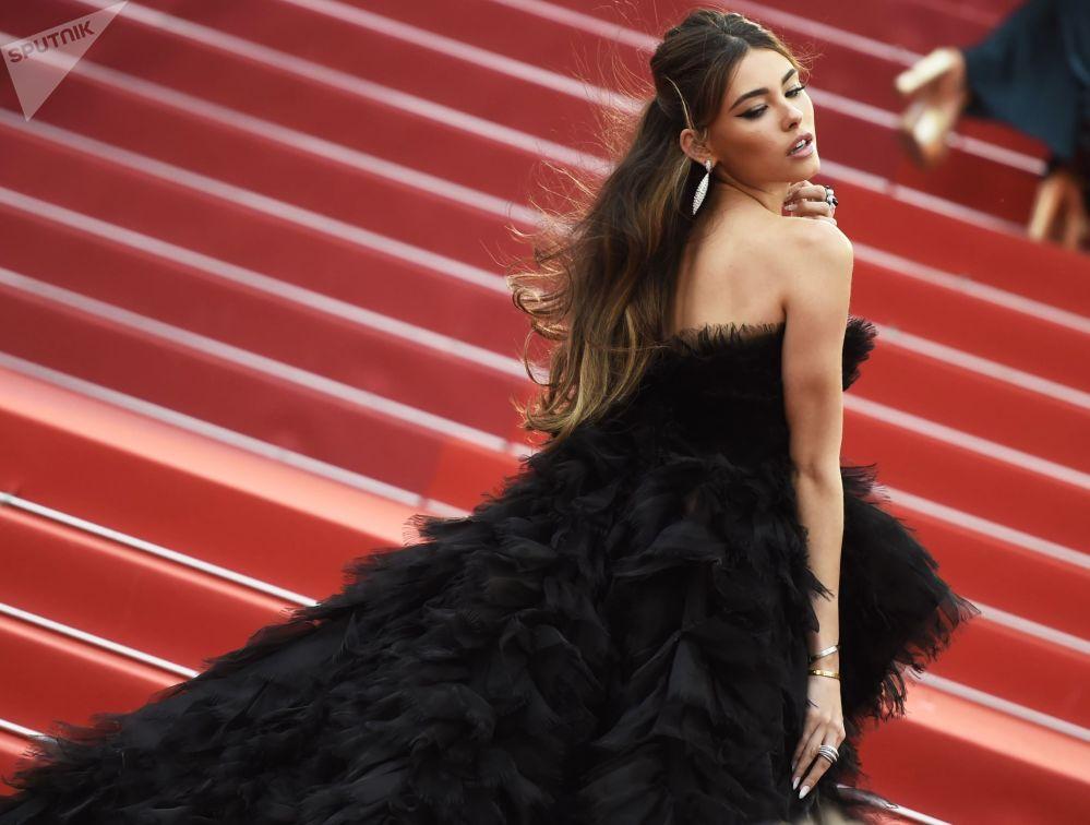 Американская актриса Мэдисон Бир на красной дорожке 72-го Каннского международного кинофестиваля