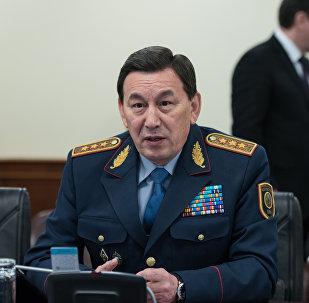 Министр МВД Казахстана Калмуханбет Касымов