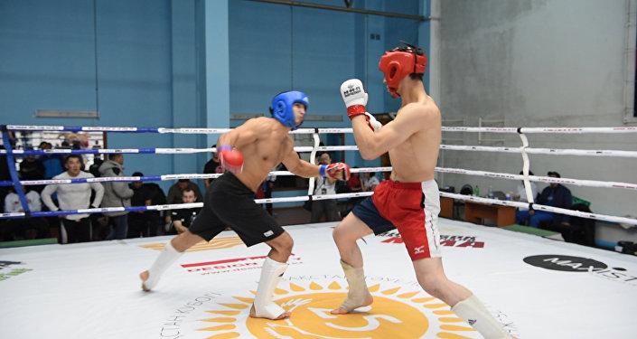 Как бойцы ММА растопили спорткомплекс имени Кажымукана в Кокшетау