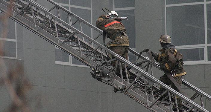 ВАлматы женщина пострадала при пожаре вТЦ «Мега Тау»