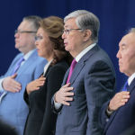 Елбасы Нурсултан Назарбаев, президент Касым-Жомарт Токаев, архивное фото