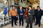 Открытие комбикормового завода в Северо-Казахстанской области