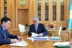 Президент Казахстана Касым-Жомарт Токаев принял председателя правления АО НК Казмунайгаз Алика Айдарбаева