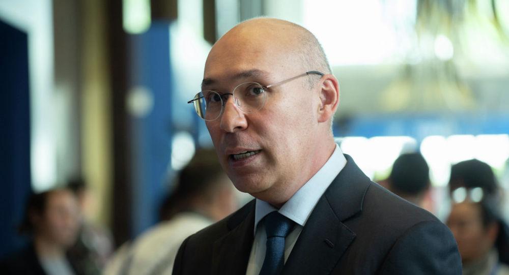 Управляющий МФЦА Кайрат Келимбетов. Евразийский Медиа Форум 2019