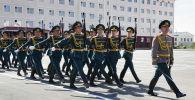 Военнослужащие Национальной гвардии Казахстана
