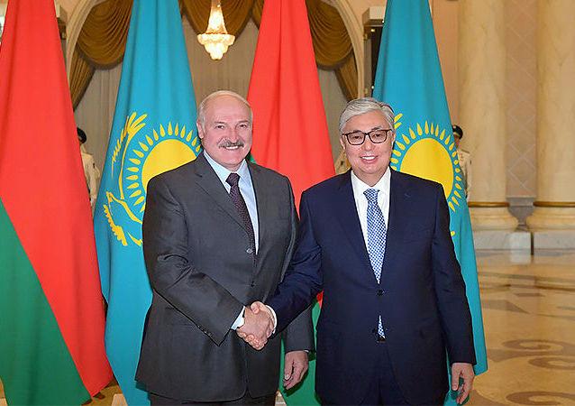 Президент Казахстан Касым-Жомарт Токаев встретился с президентом Беларуси Александром Лукашенко