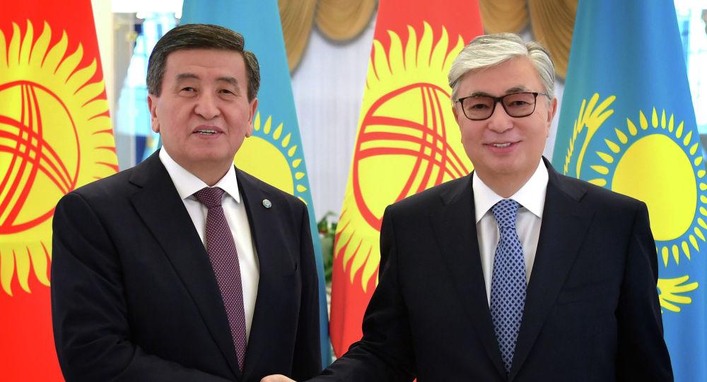 Қасым-Жомарт Тоқаев пен Сооронбай Жээнбеков