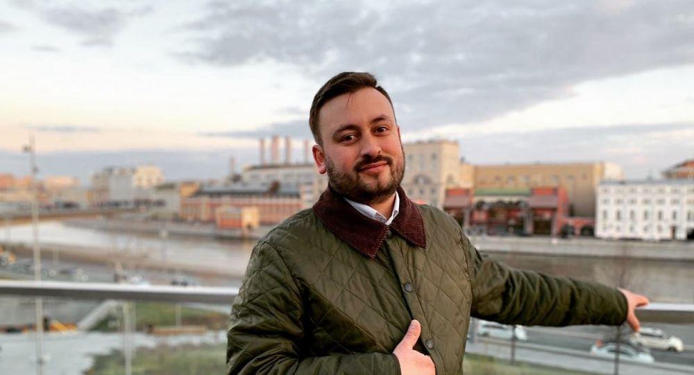 Sputnik Литва шеф-редакторы Марат Касем, архивтегі фото