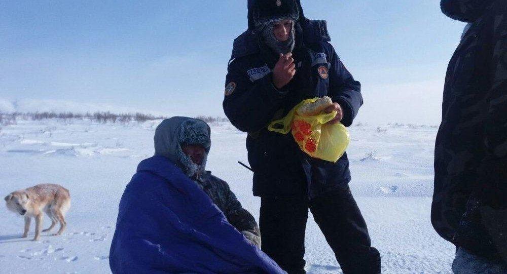 Cотрудники экстренных служб ВКО отыскали встепи испасли замерзающего пастуха