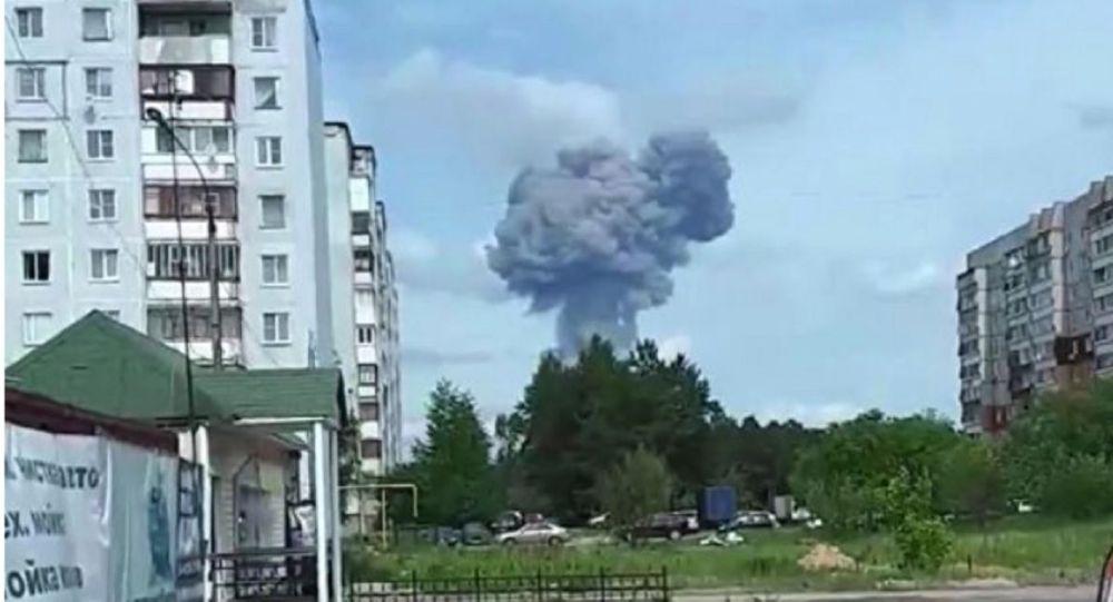 Взрыв на заводе Кристалл в Дзержинске