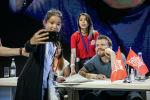 Актер Пилу Асбек, исполнивший роль Эурона Грейджоя в сериале Игра престолов, встретился с фанатами в Нур-Султане