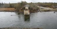 Аварийный мост, архивное фото