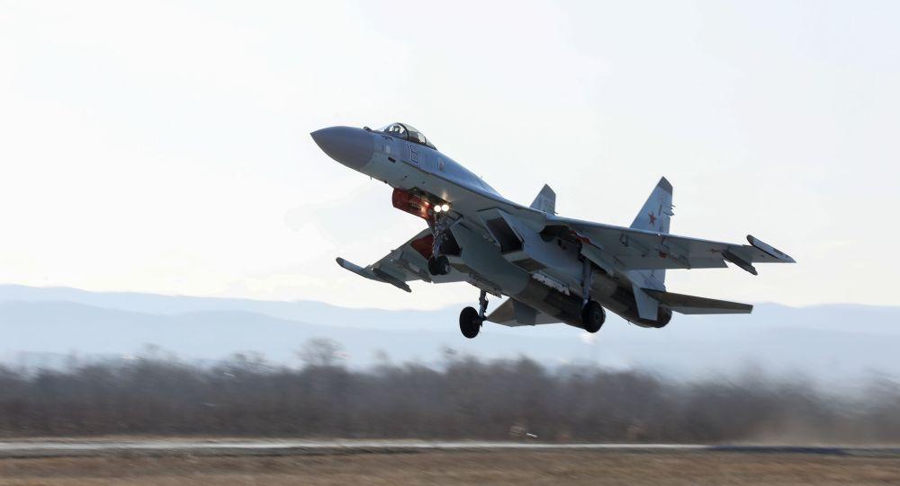 Су-35С ұшағы