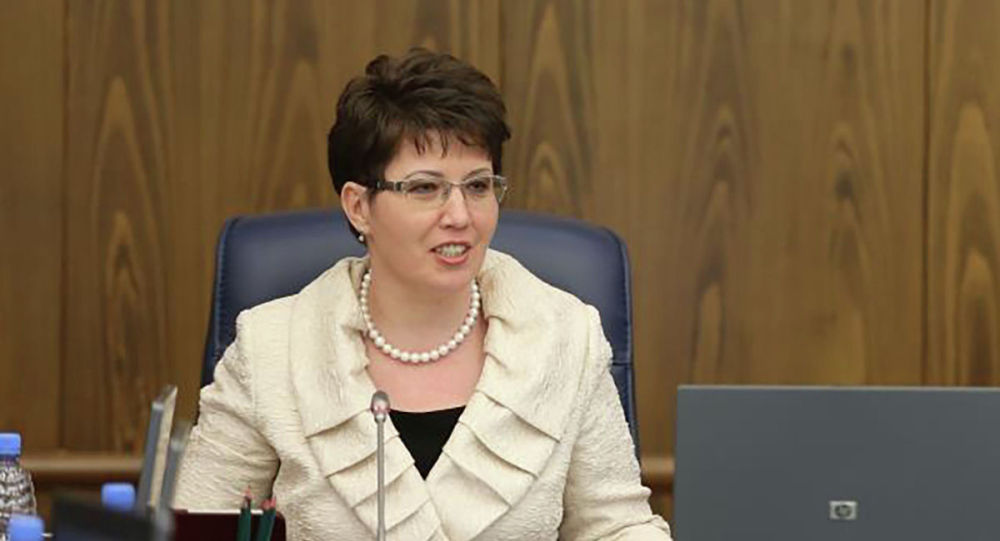 Председатель Cчетного комитета по контролю за исполнением республиканского бюджета Наталья Годунова