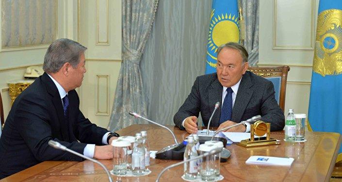 Встреча Нурсултана Назарбаева с Ахметжаном Есимовым
