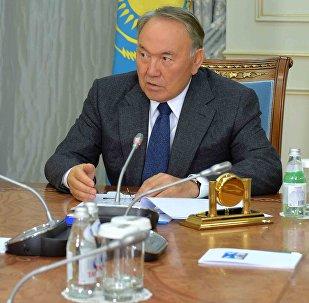 Нұрсұлтан Назарбаев пен Ахметжан Есімовтің кездесуі
