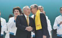 Назарбаев пен Қасым-Жомарт Тоқаев