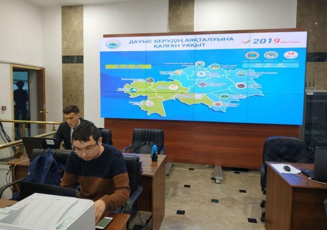 Пресс-центр в Центризбиркоме начал работу