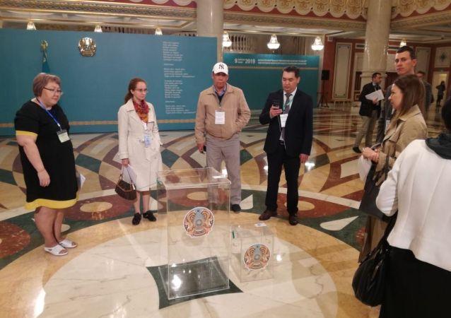 Участок, где будет голосовать действующий президент Касым-Жомарт Токаев