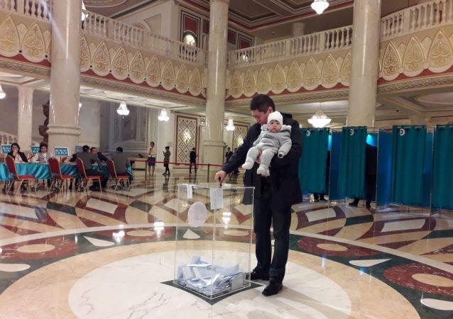 Внеочередные выборы президента в Республике Казахстан
