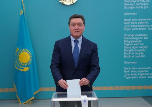 Аскар Мамин проголосовал на выборах