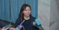 Самал Еслямова проголосовала на выборах президента