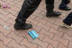 Задержания во время митинга