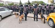 Несанкционированный митинг в Нур-Султане