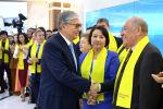 Касым-Жомарт Токаев встретил результаты Exit poll со своим штабом в Nur Otan