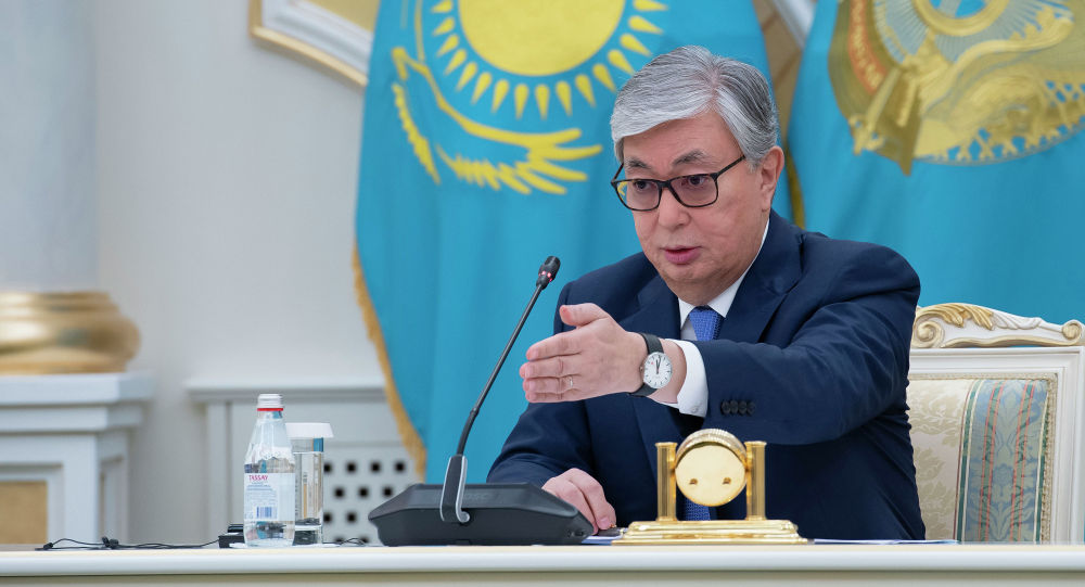 Касым-Жомарт Токаев сделал заявление перед журналистами после оглашения предварительных итогов выборов президента Казахстана. Пресс-конференцият в Акорде