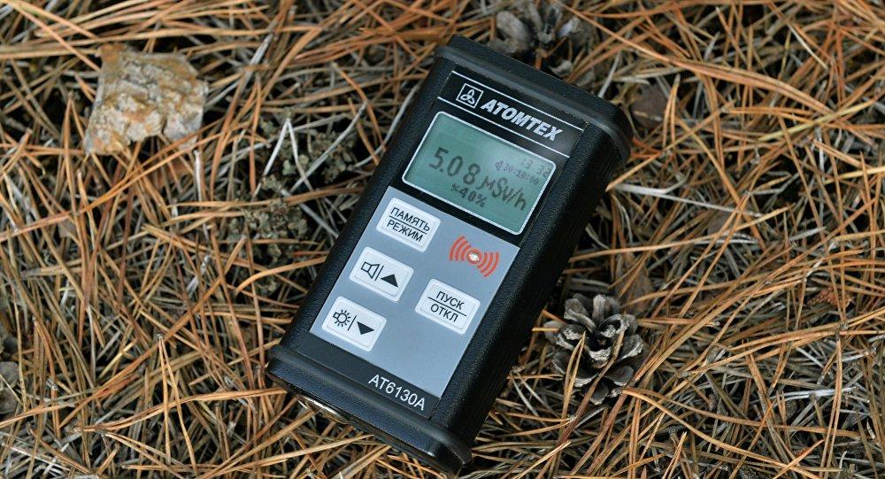 Замер уровня радиации с помощью бытового дозиметра
