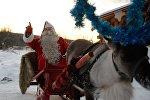 Финский Санта-Клаус Йоулупукки, архивное фото