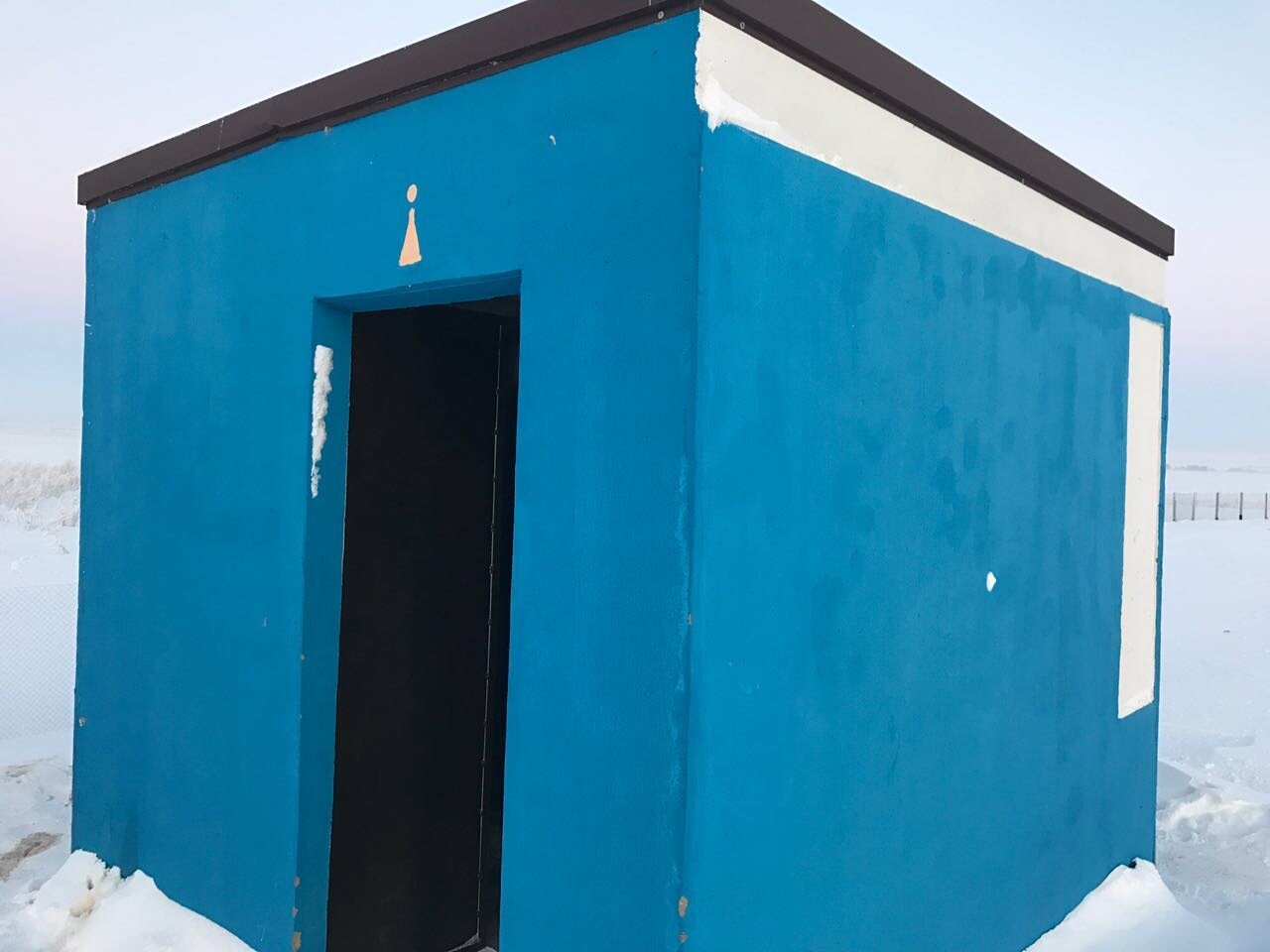 Здание туалета
