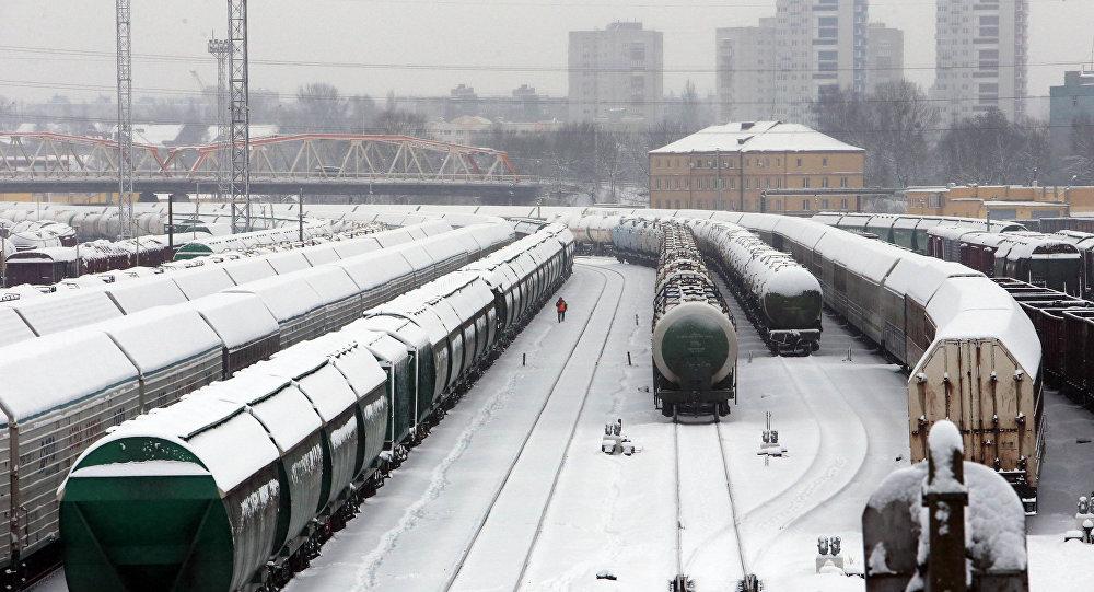 Поезда зимой