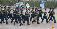На главной площади Казахстана идет подготовка к инаугурации Токаева