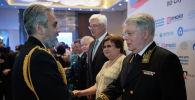 Гости на государственном приеме посольства Российской Федерации в Республике Казахстан по случаю Дня России
