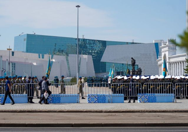 Ситуация у Дворца Независимости, где пройдет инаугурация президента РК