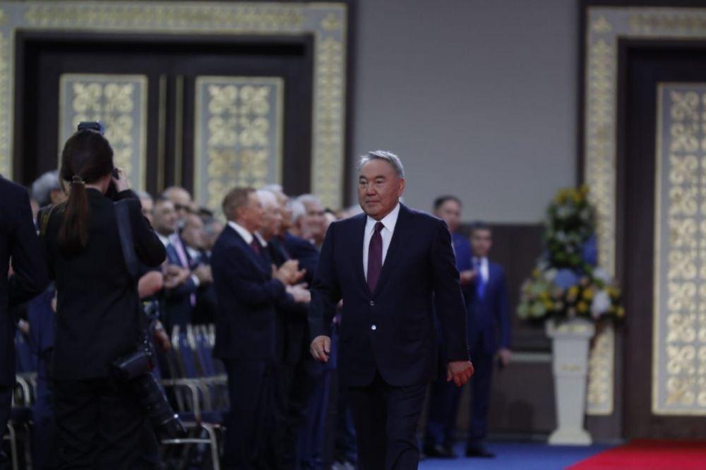 Нурсултан Назарбаев на инаугурации К.-Ж. Токаева