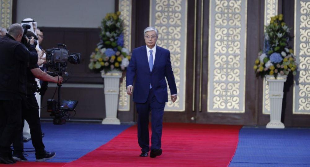 Инаугурация избранного президента Казахстана Касым-Жомарта Токаева проходит 12 июня 2019 года