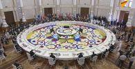 Пленарное заседание на саммите СВМДА в Таджикистане