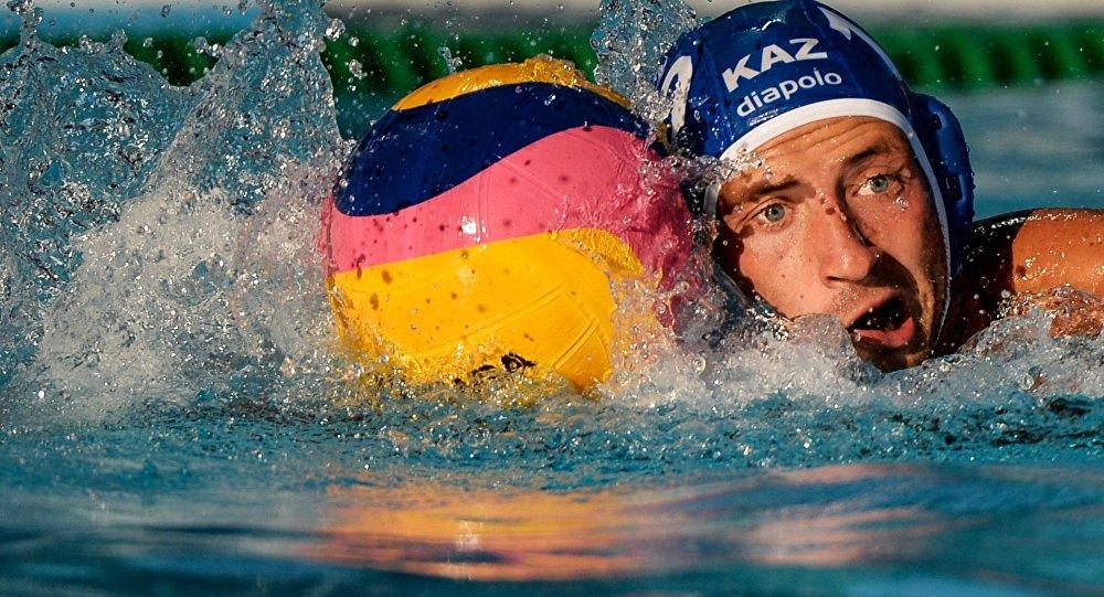 Мужская команда Казахстана по водному поло