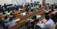 ҰБТ тапсырушыларын бақылау үшін ата-аналарға арналған аудитория