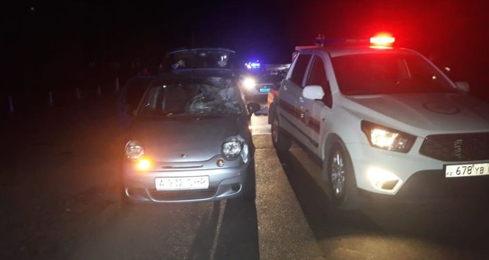 Дэу Матиз сбил мужчину на ул. Бурундайской