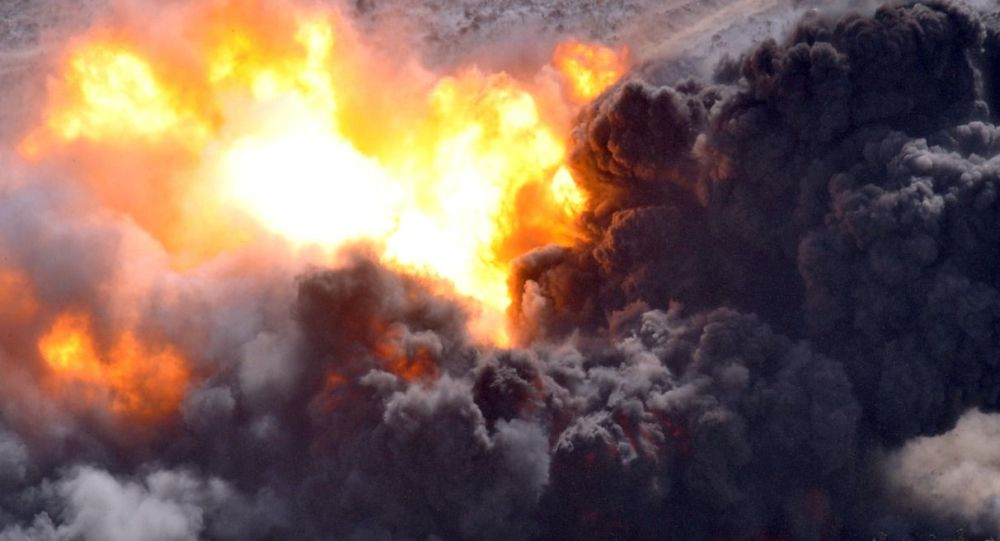 Взрыв боеприпасов, иллюстративное фото