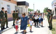 Пункты сбора эвакуируемых из города Арысь