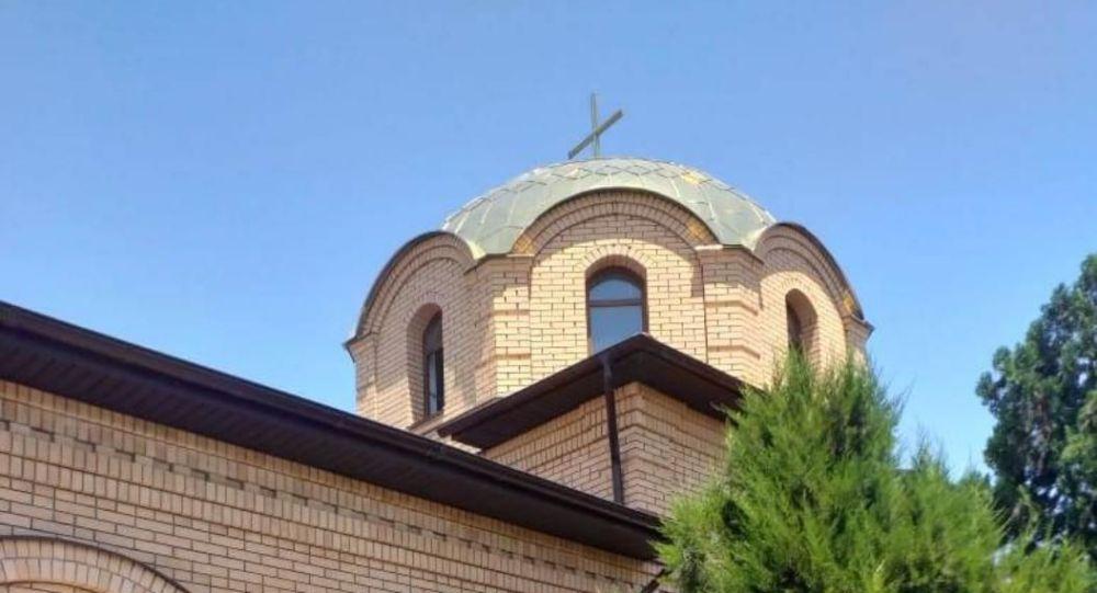 Православный храм в честь Казанской иконы Божией Матери в Арыси